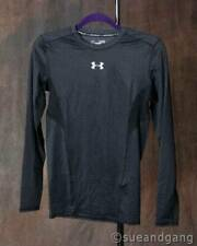 NWT Under Armour Men's Compression Shirt Gray/Black Medium Athletic Org $44