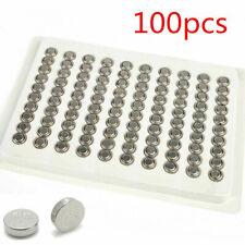 Useful 100pcs SR626SW AG4 377 LR626 Alkaline Button Cell Watch Battery Batteries