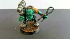 WARHAMMER 40K SPACE ORK PAINBOY WITH PINCERS PROPER PRO PAINTED JUST LOVELY!