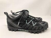 Bontrager Womens SSR Mountain Inform Black/Aqua Cycling Shoes US 8