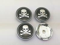 60mm Raw & Bloody Bones Logo Wheel Center Caps Hub Caps Emblems Badge 6017