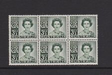 AUSTRALIA 1959 3 1/2d Definitive MNH  SG312 Block of 6