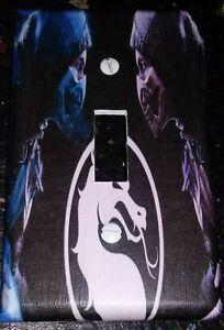 Custom Handmade Mortal Kombat Single Toggle Light Switch Cover