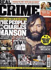 Real Crime magazine Charles Manson The Black Dahlia Jimmy Hoffa Florence killer