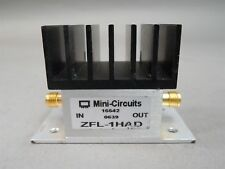 Mini-Circuits ZFL-1HAD Coaxial Amplifier 50ohms 10-500MHz High Isolation USED