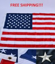 American Flag USA | 3'x5' ft | EMBROIDERED Stars, Sewn Stripes, Heavy Duty