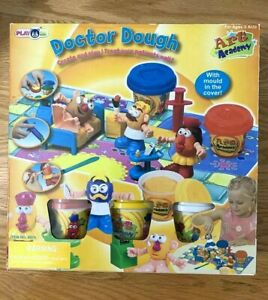 *NEW* DOCTOR DOUGH PLAY DOH CREATE AND PLAY! ART ACADEMY KIDS TOY AGES 3 & UP
