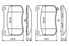 Brake Pad Set Rear MINTEX Lexus IS 2 (5.0 2007-2013)