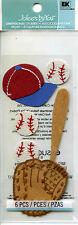 "Jolee's By You ""BASEBALL"" Dimensional Scrapbooking Sticker K-184"