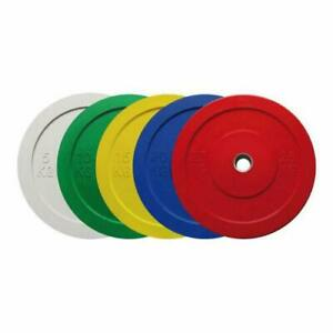 Olympic Rubber Bumper Plates - Colour