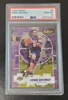 2000-01 Topps Finest 8 Kobe Bryant Lakers HOF PRISTINE PSA 10 GEM MT New Holder