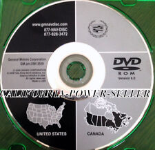 2004 2005 2006 2007 CADILLAC CTS & CTS-V NAVIGATION DISC DVD CD 25813529 DISK
