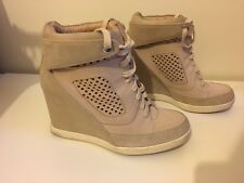 French Connection Suede Trainer Boots / Platforms size 5