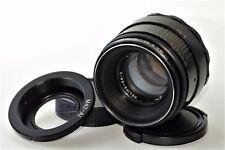 HELIOS-44-2 +Adapter M42-Nikon BEST Soviet lenses USSR Vintage Excellent