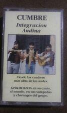Cumbre - Integracion Andina - rare HTF Bolivia Cassette Tape - Grita en su canto