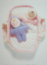 Rag Doll Twin Babies and Carry Cot Sewing Pattern