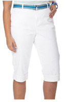 Gloria Vanderbilt Amanda Stretch Capri Pants  Plus Size 20, 22W