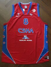 canotta basket SMODIS CSKA MOSCOW jersey trikot maillot camiseta FIBA basketball