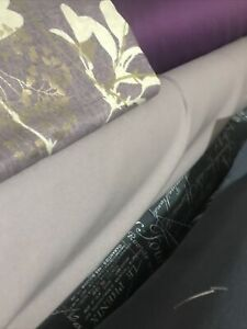 """5m,of Plain thistle COTTON Heavy fabric 54""""EXTRA WIDE SALE LOVELY QUALITY CLOTH"""