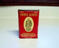 Vintage Prince Albert Crimp Cut Tobacco Tin Pocket Empty 1 1/2 oz Size