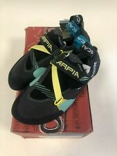 Scarpa Women's Arpia size 38 Vibram Black/Aqua Climbing