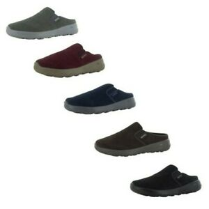 Skechers Womens On The Go Joy Snuggly Suede Clog Shoes
