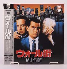 04649 F/S by Air Mint Laserdisc WALL STREETSF093-1580 w/OBI from Japan