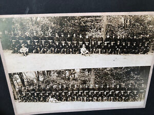 Rare 1890's-1905 Large Mounted Photo US Army Soldiers / Regiment