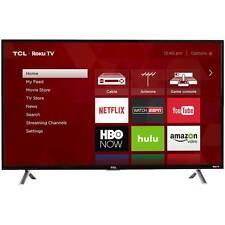 "TCL - 40"" Class (40"" Diag.) - LED - 1080p - Smart - HDTV Roku TV"