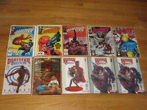 Daredevil #183 ,#184, #252 Frank miller #1 lot of 10 books vf- nm lot1 very nice