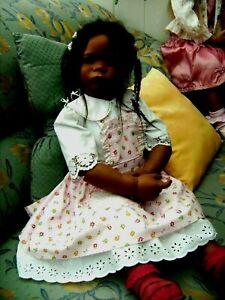 Traumhaft schönes 2- teil.Kleidchen-Himstedt Outfit +für Puppen von ca.80-85 cm