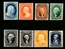 UNITED STATES (US) 40P4 - 47P4 CARD PROOFS COMPLETE SET