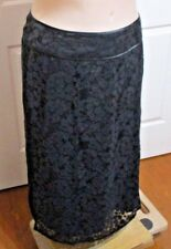 LADIES BLACK STRAIGHT LACE BE ME LABEL SIZE 20