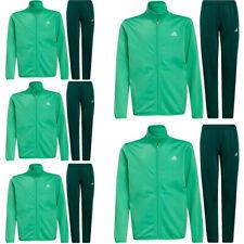 Adidas Boys Tracksuits Bottoms Kids Essentials Jacket Tracksuit Trouser M L XL