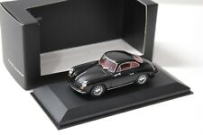 1:43 Minichamps Porsche 356 Carrera 2 black DEALER NEW bei PREMIUM-MODELCARS