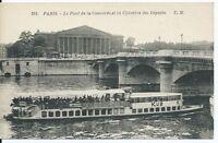 CPA 75 - PARIS - Le pont de la Concorde et la chambre des Députés
