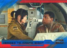 Star Wars Last Jedi S2 Blue Base Card #42 Headed to Canto Bight