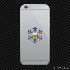 New Hampshire Snowflake Cell Phone Sticker Mobile NH snow flake snowboard skiing