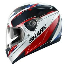 Casco, Helmet, SHARK S700S LAB white-black-red talla: L