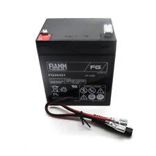 Mountfield/fiamn 12 V 4.5Ah Batería Cortadora de césped arranque eléctrico Cables C/W M3863