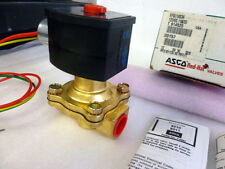 "Asco 1/2"" EF8210G034 3UK88 exp proof normally open air water valve, 120v C206"