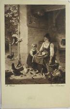 """""""Kinder, Frauen"""" 1915, Serie 725, sig. H. Wenner, Im Sommer ♥   (2269)"""