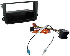 VW Golf Mk5 03-09 Single Din Car Stereo Fitting Kit Facia ISO Aerial kit