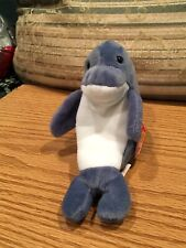 Beanie Babies Echo Dolphin 12-21-1996 MWMT Retired PVC Pellet