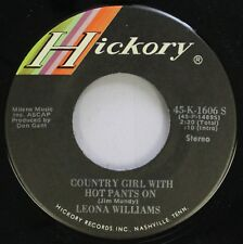 Country 45 Leona Williams - Country Girl With Hot Pants On / Babe, Just For You