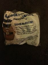 "MIP 1988 McDONALDS HAPPY MEAL McNUGGET BUDDIES ""SARGE McNUGGET"" TOY FIGURE"