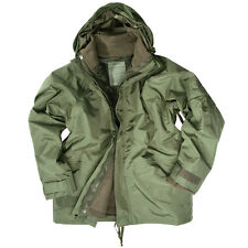 Protección Humedad Chaqueta Con polar S s-3xl,US ARMY WINTER Impermeable Mil-Tec