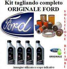 KIT TAGLIANDO FILTRI + OLIO ORIGINALE FORD FIESTA V 1.4 TDCi dal 2001 al 2008