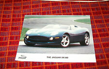 JAGUAR XK180 COLOUR PRESS PHOTOGRAPH