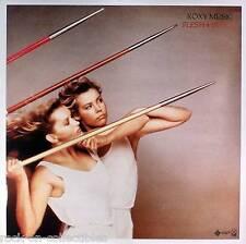 Roxy Music 1980 Flesh & Blood Rare Original Promo Poster